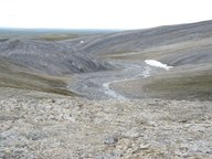 Tauender Permafrost lässt Methan aus der Tiefe entweichen